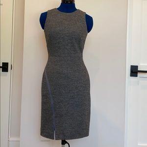 J. Crew Wool Grey Sheath Dress